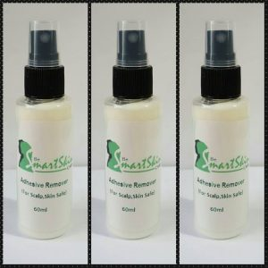 Adhesive Remover - (For scalp , skin safe ) - This specially formulated solvent will leave very little oily residue and will makes the removal of water based, faster and easier. Available in 60 ml
